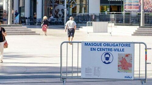 Coronavirus : L'obligation du port du masque prolongée dans les Pyrénées-Atlantiques